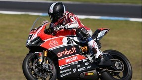 Superbike, Bayliss sta per tornare in pista