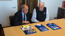 Sesti (FMI) e Di Rocco (FCI), scambio di maglie