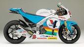 Anstey con una Honda MotoGP al Tourist Trophy