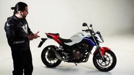 Motosprint – The Test di Riccardo Piergentili: Honda CB500F