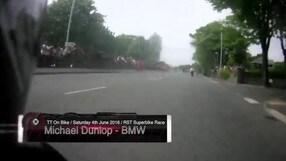 "Dunlop, giro ""folle"" in moto all'Isola di Man: 214 km/h di media su... strada"