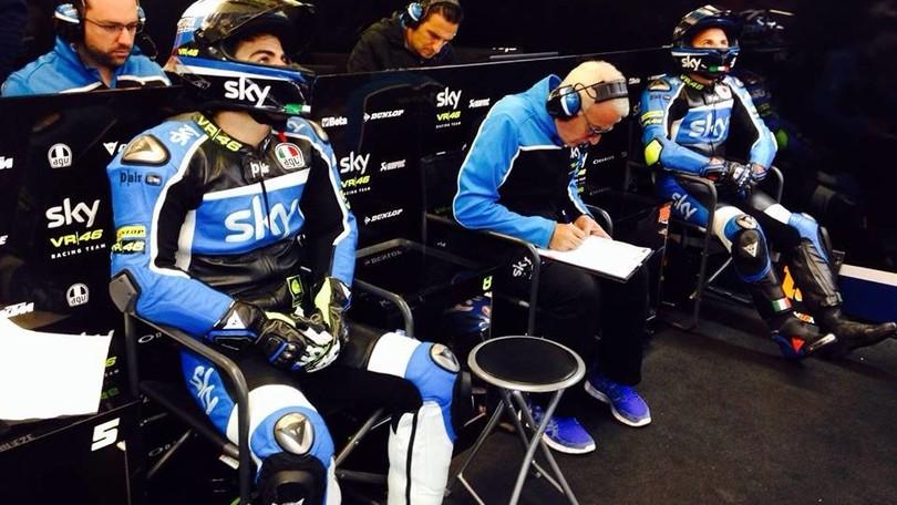 Fenati punito dal team di Valentino Rossi: in Austria non correrà
