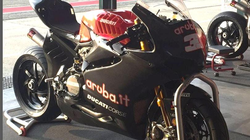 Marco Melandri, primo contatto con la Ducati Superbike