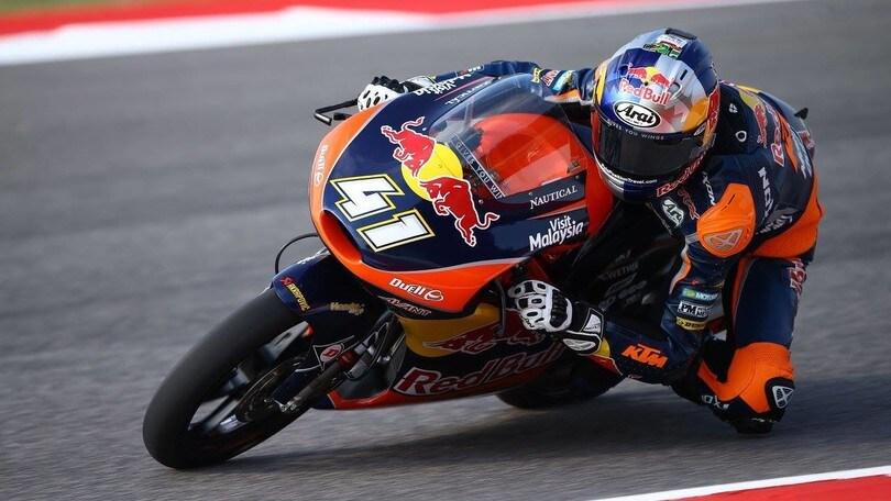 Moto3: a Misano vince Binder, Bastianini secondo