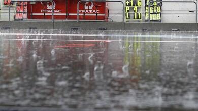 Troppa pioggia a Phillip Island: annullate le FP2 MotoGP e Moto2