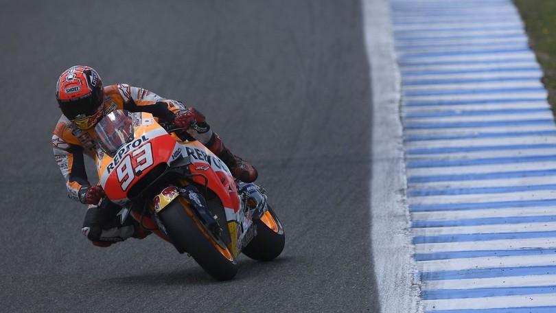 MotoGP Phillip Island, Marquez è il più rapido nelle FP3