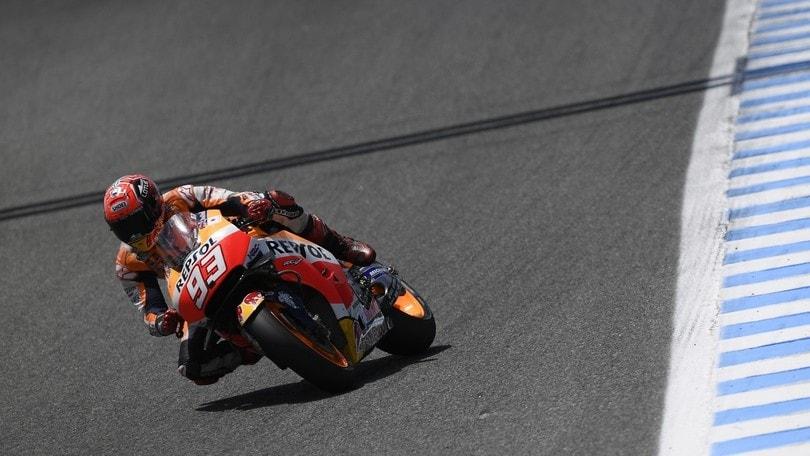 MotoGP Phillip Island, Marquez mette tutti in fila e fa la pole