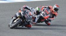 MotoGP e Superbike girano insieme a Jerez: le foto in tempo reale
