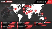 Superbike: annunciato il calendario (provvisorio) della stagione 2017