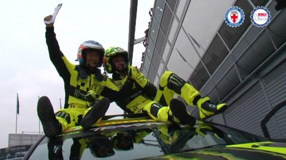 Monza Rally Show, Rossi mette la quinta!