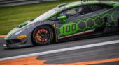Dovizioso show con Lamborghini - FOTO