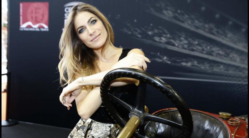 """Eleonora Pedron: la """"ex"""" di Max Biaggi inaugura il Motor Show"""