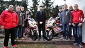 Biaggi presenta il suo team e punta al mondiale Moto3