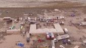 Dakar impantanata: il bivacco di Oruro è un mare di fango