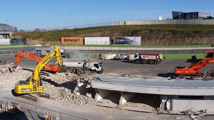 Vallelunga: iniziati i lavori alle tribune e al paddock
