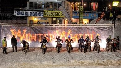 Nicola Dutto organizza una gara sulla neve per quad e moto