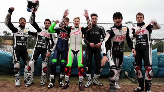 ESCLUSIVO - Althea, il team che sorride si sfida col motard (VIDEO)