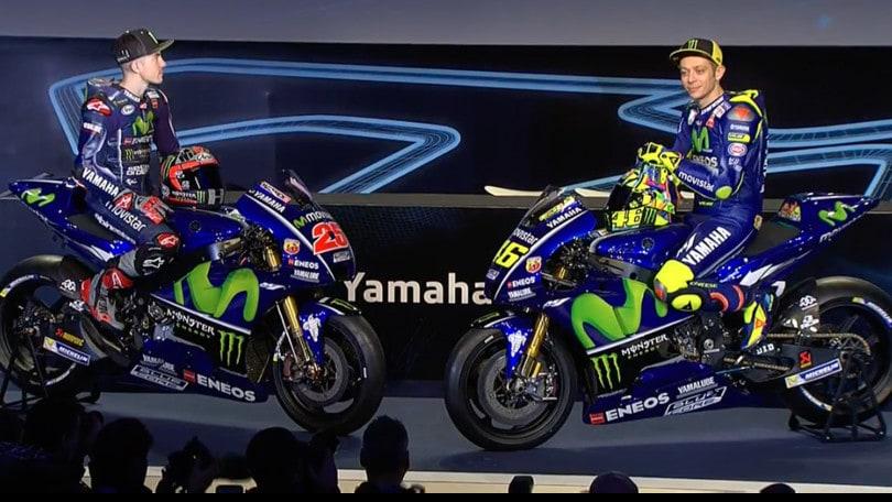 MotoGP 2017: Ecco La Nuova Yamaha Di Rossi E Vinales