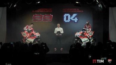 """MotoGP, la nuova Ducati in diretta. Domenicali: """"Puntiamo al titolo"""""""