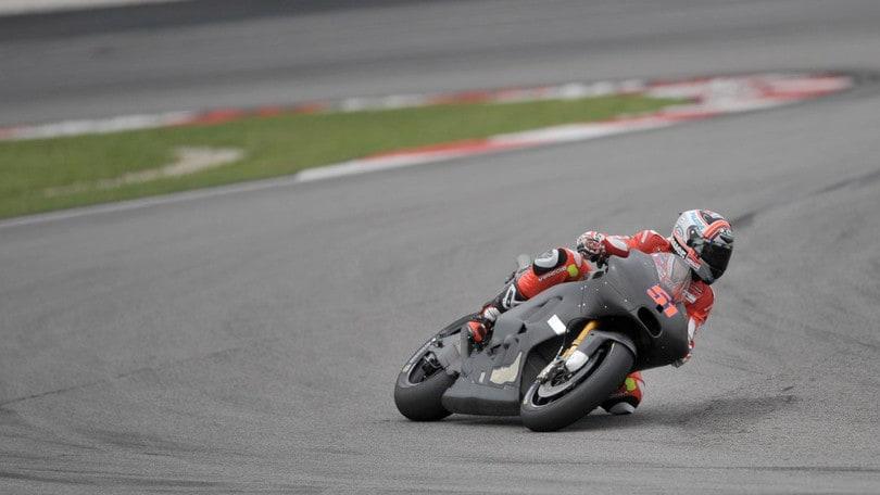 MotoGP Test: Stoner si 'spegne', Yamaha saluta le alette