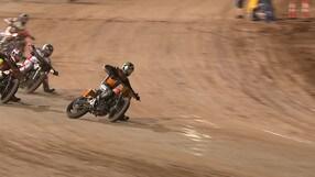 Traversi e derapate in sella alle Harley Davidson