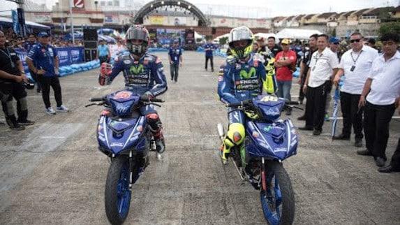 Rossi VS Viñales: Valentino KO... sugli scooter