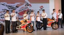 Honda: le foto del team 2017