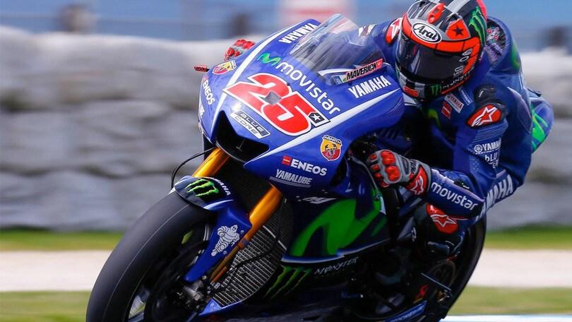 MotoGP, test Phillip Island day3: Vinales sempre davanti