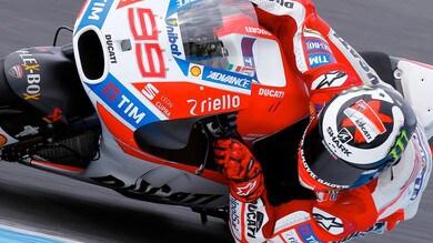 MotoGP, test Phillip Island, Lorenzo: