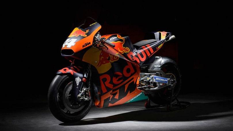 MotoGP 2017: ecco la KTM,