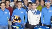 MotoGP: Iannone e Rins in visita alla Suzuki
