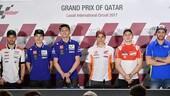 MotoGP Qatar, in conferenza i piloti sono tutti cauti
