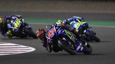 MotoGP Qatar, gara: Vinales, che debutto! L'Italia c'è con Dovizioso e Rossi
