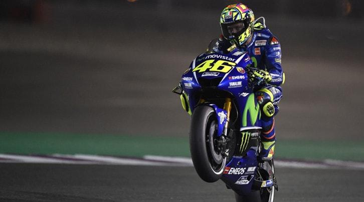 """Rossi: """"Abbiamo una moto da gara e sono un pilota da… gara"""""""