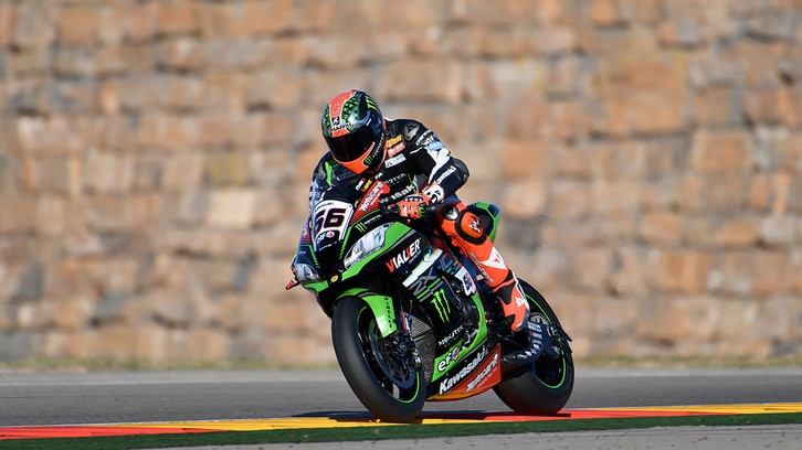 SBK, Sykes domina i test di Aragon