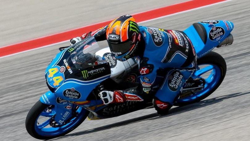 Moto3, Austin: Fenati is back, Bulega pure