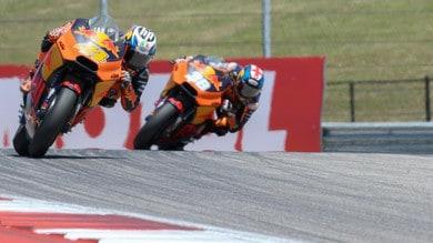 MotoGP Austin: battuta a vuoto per KTM