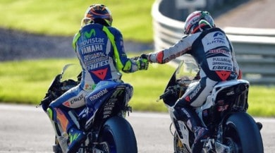 "Incidente Hayden, Rossi: ""Forza Nicky siamo con te"""