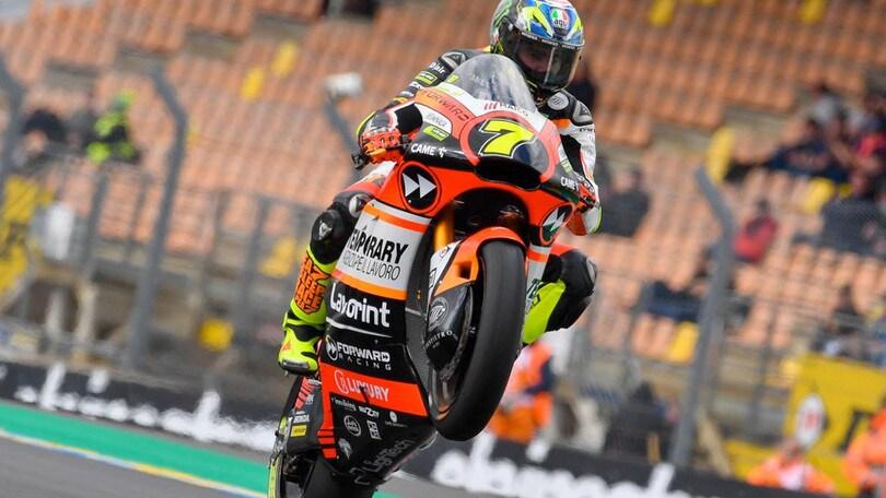 Moto2, doppietta Italia. 1° Morbidelli poi Bagnaia