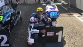 Moto3 LeMans, Martin in pole position
