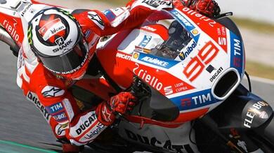 MotoGP, Ducati: soluzioni positive nei test a Barcellona