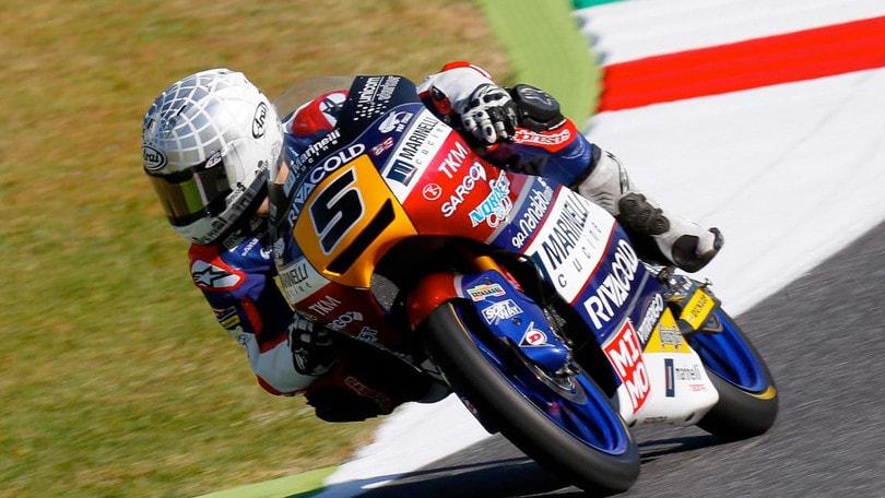 Moto: Italia, Moto3, vince Andrea Migno