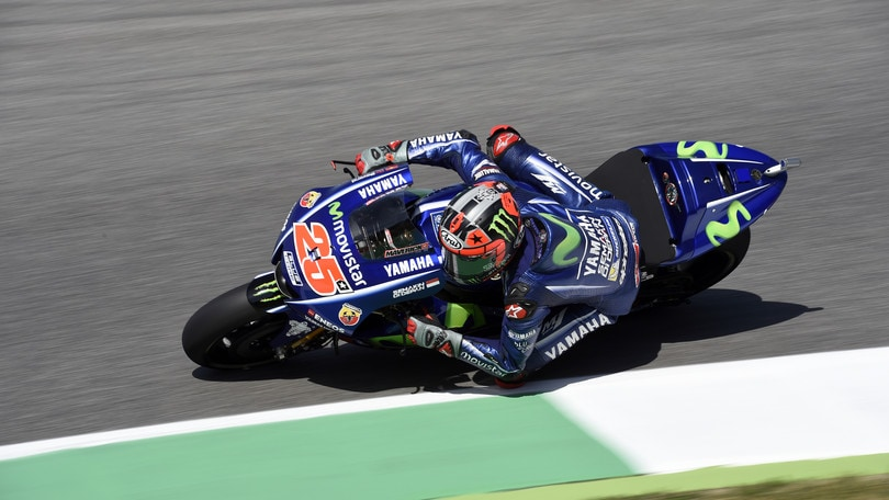MotoGp, Mugello: Warm Up a Vinales, Rossi settimo