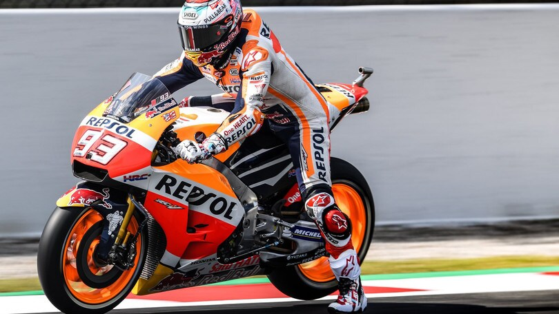 MotoGp Catalunya, Marquez vola nelle prime libere