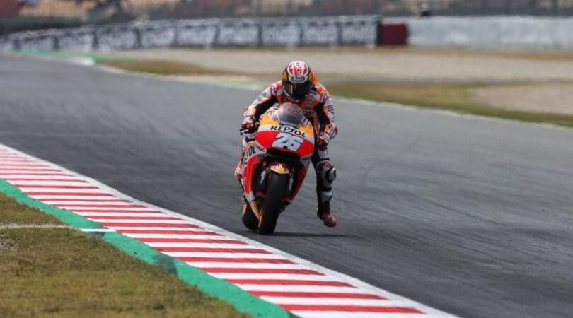 In Catalogna pole di Pedrosa, Rossi partirà solo 13°