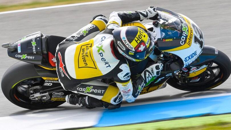 Moto2: seconda posizione per Thomas Lüthi ad Assen
