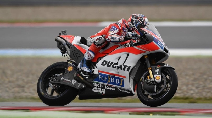 MotoGp: Marquez poleman al Sachsenring. Petrucci e Pedrosa completano la prima fila