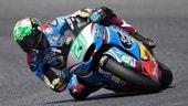 Moto2 Germania, Morbidelli in pole position