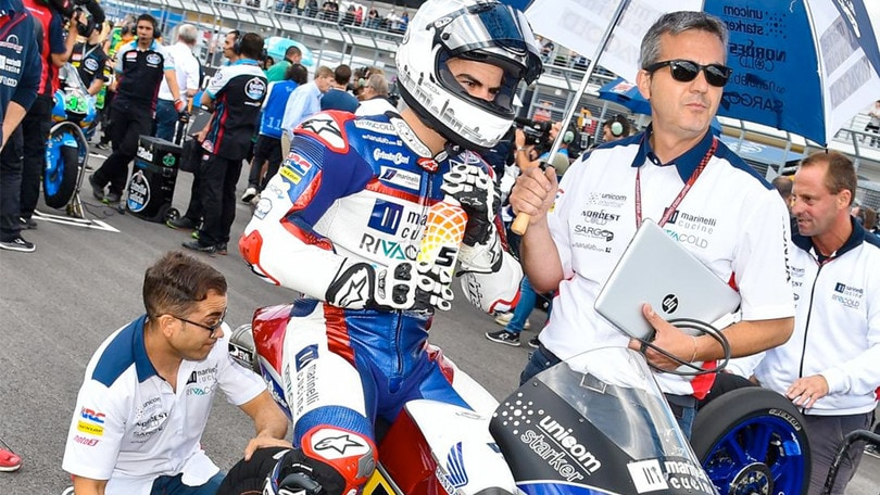 Motomondiale, Romano Fenati correrà in Moto2 il prossimo anno