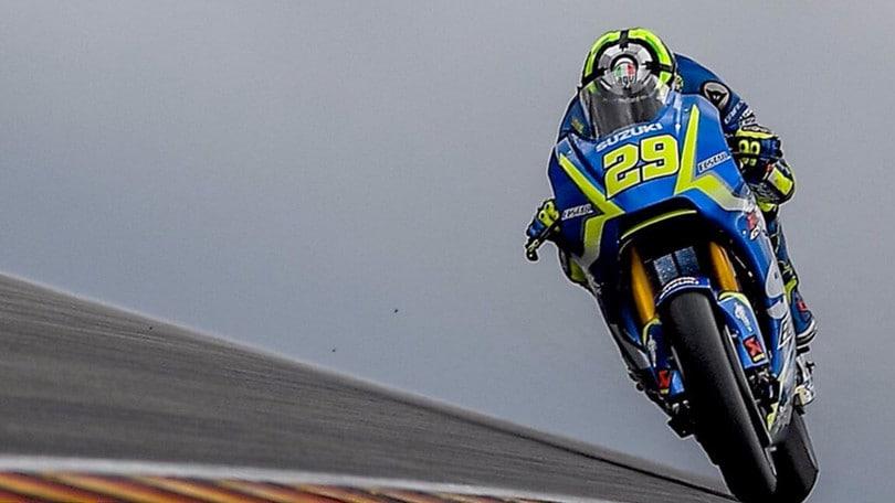 MotoGP, disastro Iannone: 19esimo a Brno nonostante Belen